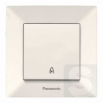 Кнопка дзвінка, крем Panasonic Arkedia Slim 0019-2BG (480300037)