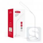 Умная лампа MAXUS DKL 6W 4100K WH Square (аккумулятор, димминг) белая, квадрат