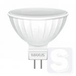LED лампа MAXUS MR16 5W яркий свет 220V GU5.3 (1-LED-512-02)