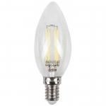 LED лампа MAXUS (филамент), C37, 4W, яркий свет,E14 (1-LED-538-01)