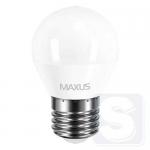 LED лампа MAXUS G45 F 4W яркий свет 220V E27 (1-LED-5410)