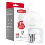 LED лампа MAXUS G45 F 8W 3000K 220V E14 (1-LED-5415)