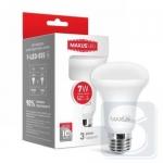 LED лампа MAXUS R63 7W мягкий свет 220V E27 (1-LED-555)