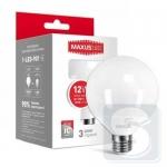 LED лампа MAXUS G95 12W 3000K 220V E27 (1-LED-901)