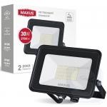 LED прожектор MAXUS FL-04 30W 5000K