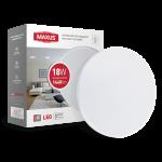 Настенно-потолочный светильник MAXUS 24W 4100K круг (1-MAX-01-LCL-2441-C)