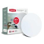 Настенно-потолочный светильник MAXUS 18W 4100K круг (1-MAX-01-LCL-1841-C)