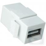 Разъем USB 2.0 типа KeyStone, 11017101 Hager