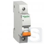 Автоматический выключатель Schneider ВА63 1П 6A C