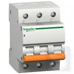 Schneider Electric Автоматический выключатель ВА63 3P 25A С (11225)