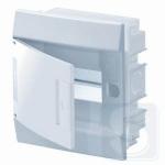 Щиток внутренний на 6 модуля ABB Mistral41 с белой дверцей (1SLM004100A1101)