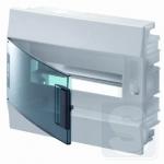 Щиток внутренний на 12 модуля ABB Mistral41 с прозрачной дверцей (1SLM004101A1203)