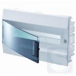 Щиток внутренний на 18 модуля ABB Mistral41 с прозрачной дверцей (1SLM004101A1204)