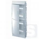 Щиток внутренний на 48 модуля ABB Mistral41 с белой дверцей (1SLM004102A1108)