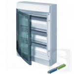 Шкаф электрический на 54 модулей IP65 Mistral прозрачные двер + клемма (1SLM006501A1208)