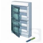Шкаф электрический на 72 модулей IP65 Mistral прозрачные двер + клемма (1SLM006501A1209)