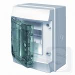 Щиток наружный на 4 модуля ABB Mistral41 с прозрачной дверцей (1SPE007717F0220)