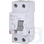 УЗО 2p 16А/0,03А тип AC 6kA ETI EFI6-2