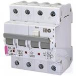 Дифавтомат 4p 6А/30мА тип AC 10kA ETI KZS-2M