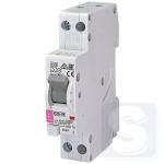 Дифференциальный автомат B20/0.03 тип A 6kA ETI KZS-1M с нижним подключением