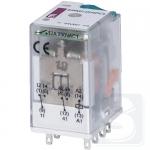 Реле электромеханическое ERM2-024DCL 2CO 24V DC 12А AC1 ETI (2473001)