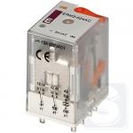 Реле электромеханическое ERM2-024AC 2CO 24V AC 12А AC1 ETI (2473002)