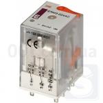 Реле электромеханическое ERM2-024ACL 2CO 24V AC 12А AC1 ETI (2473003)