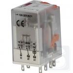Реле электромеханическое ERM2-230AC 2CO 230V AC 12А AC1 ETI (2473004)