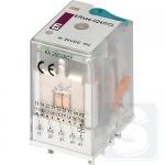 Реле электромеханическое ERM4-024DCL 4CO 24V DC 6А AC1 ETI (2473007)