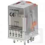 Реле электромеханическое ERM4-024AC 4CO 24V AC 6А AC1 ETI (2473008)