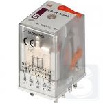 Реле электромеханическое ERM4-230AC 4CO 230V AC 6А AC1 ETI (2473010)