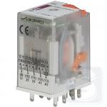 Реле электромеханическое ERM4-230ACL 4CO 230V AC 6А AC1 ETI (2473011)