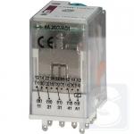 Реле электромеханическое ERM4-110DCL 4CO 110V DC 6А AC1 ETI (2473022)