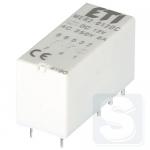 Реле электромеханическое миниатюрное MER2-012DC 2CO 12V DC 8А AC1 ETI (2473031)