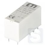 Реле электромеханическое миниатюрное MER2-024DC 2CO 24V DC 8А AC1 ETI (2473032)