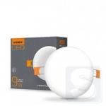 LED светильник безрамочный  VIDEX на 9W 4100k круглый (VL-DLFR-094)