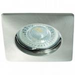 Светильник точечный Kalnux Nestra DSL-C/M, Gx5.3/GU10, IP20, хром матовый,  26748