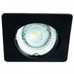 Светильник точечный Kalnux Nestra DTL-B, Gx5.3/GU10, IP20, черный,  26750