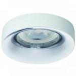 Светильник точечный Kalnux Elnis L W/C, Gx5.3/GU10, IP20, белый/хром,  27806
