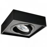 Светильник Kalnux Mini Gord DLP 50-B, Gx5.3/GU10, черный,  28781