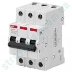 Автоматический выключатель 3п C 16А ABB Basic M BMS413C16 (2CDS643041R0164)