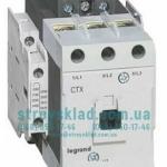 Контактор 85 А 3 полюса 230 В AC Legrand 416206 CTX3 100