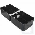 Монтажная коробка под заливку в бетон для лючков на 8 модуля металл (54003)