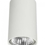 Накладной светильник NOWODVORSKI белый цилиндр (9 см) 66486