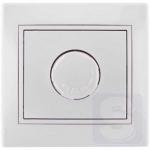 Диммер светорегулятор 1000 Вт LEZARD Mira белый (701-0202-157)
