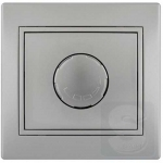 Диммер светорегулятор 1000 Вт LEZARD Mira серый металлик (701-1010-157)