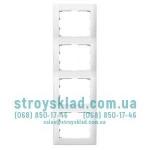 Рамка на 4 поста вертикальная Legrand Galea Life 771008 белый