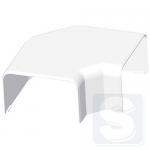 Угол плоский Kopos 8553 HB, 100x60 мм., белый (8595057622432)