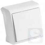 Выключатель 1кл. VERA (белый) (90681001)
