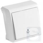 Кнопочный выключатель VIKO VERA (белый) (90681003)